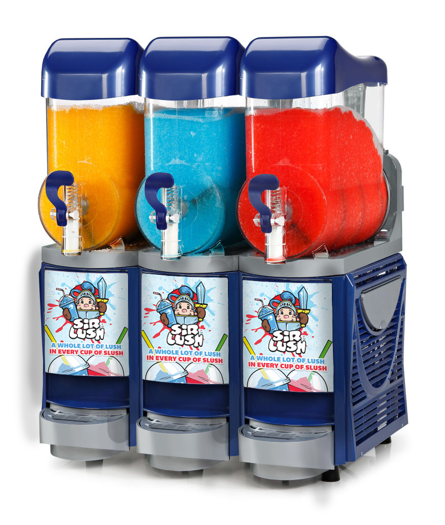 Skyline 3 blue commercial slush machine from Us4slush