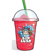 Strawberry slush drink